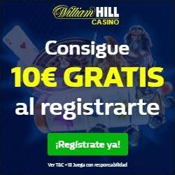 10€ Gratis William Hill Casino