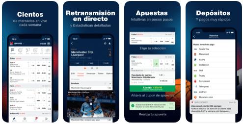 marathonbet app móvil