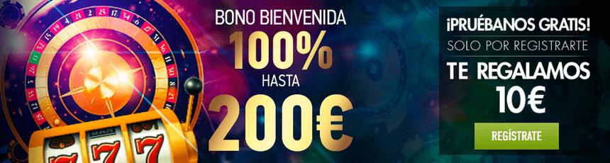 bono sportium casino online + bono sin deposito 10 euros