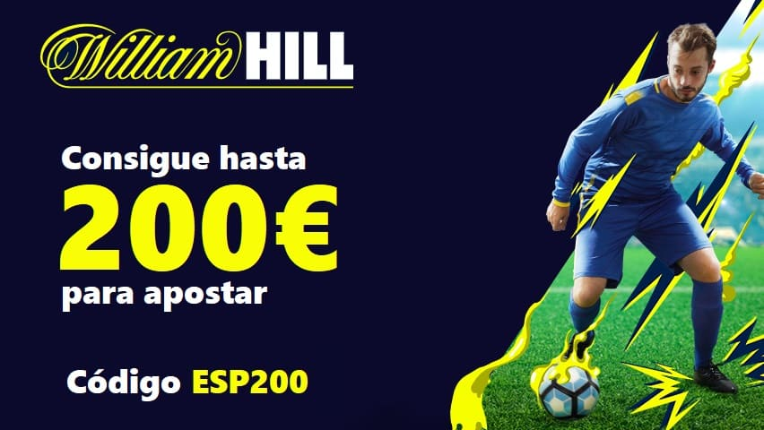 bono william hill apuestas deportivas