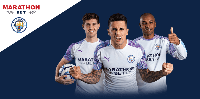 marathonbet patrocinador oficial del Manchester City