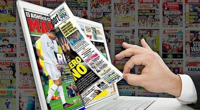 Portadas Periódicos Deportivos
