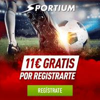 sportium 11 euros gratis