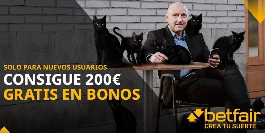Nuevo bono betfair apuestas deportivas 200 euros