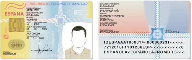 documento de identidad