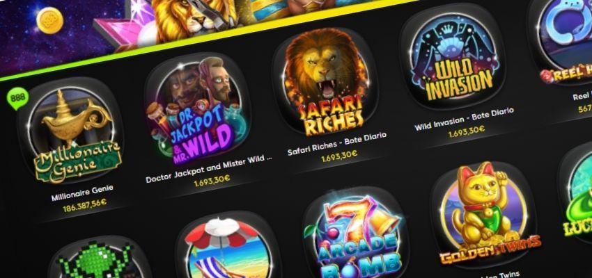 juegos tragaperras y slots