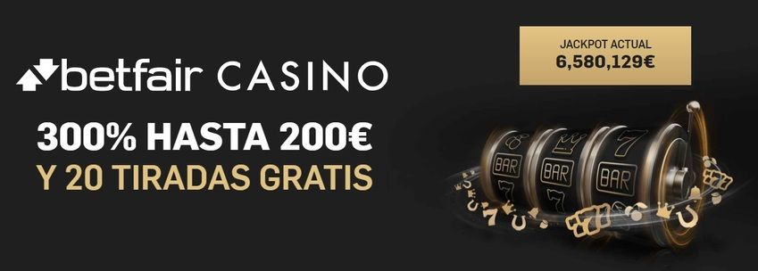 bono betfair casino online
