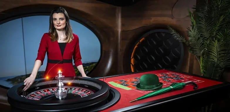 mrgreen juega a la ruleta en vivo del casino online