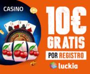 10 euros gratis sin deposito casino luckia