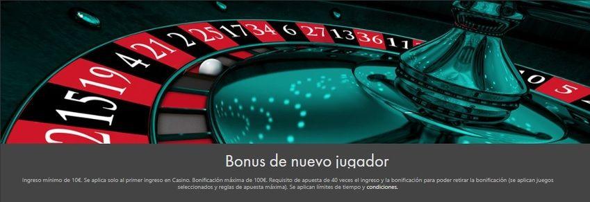 Bet365 casino online bono de bienvenida