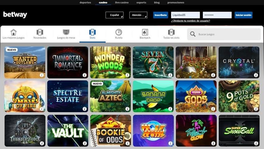 portal betway casino online