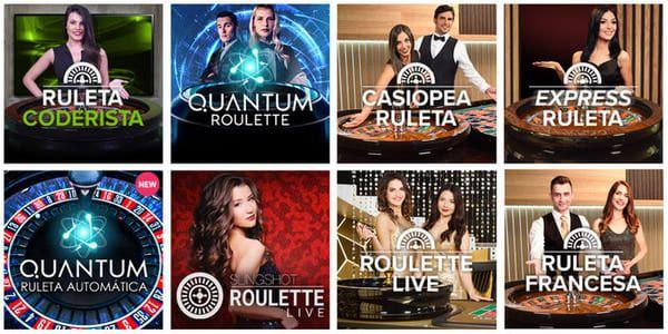 ruletas en vivo codere casino