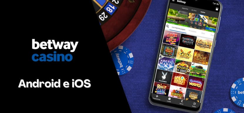 App betway casino - Android e iOS