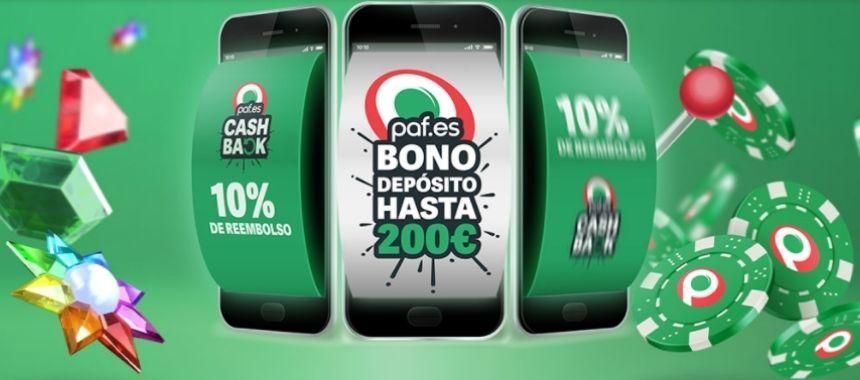 Bono paf casino online