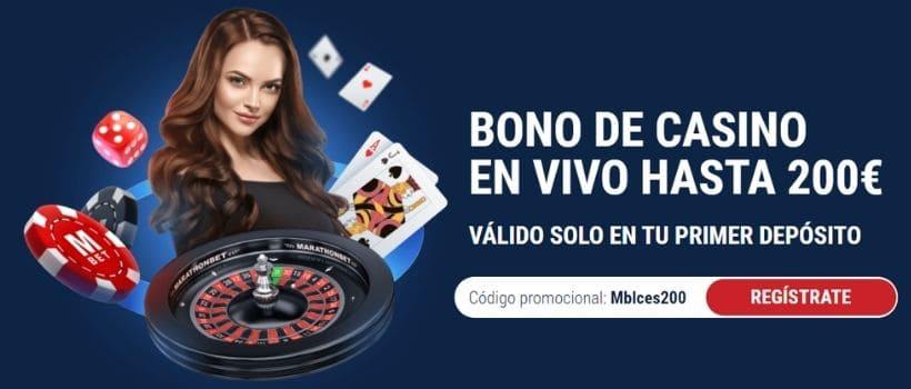 bono marathonbet casino online