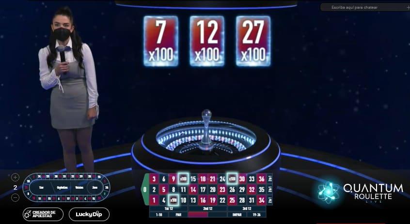 mesa de juego ruleta quantum
