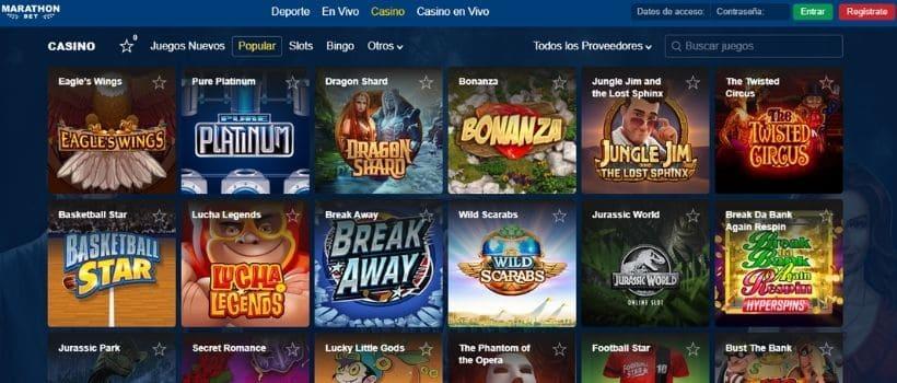 portal web marathonbet casino