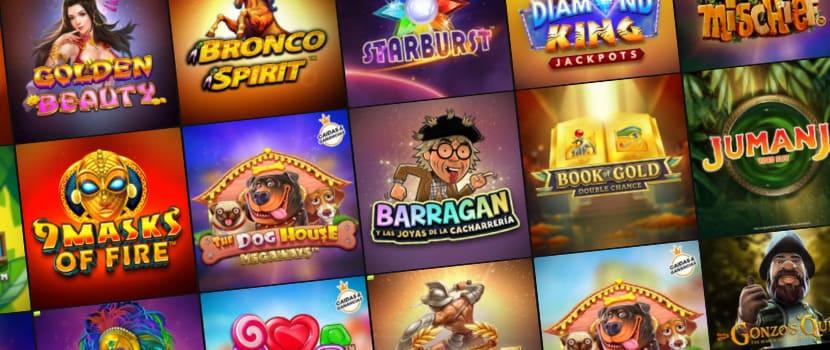 slots y tragaperras Casino777