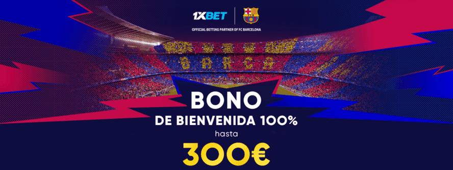 bono 1xbet España apuestas deportivas online