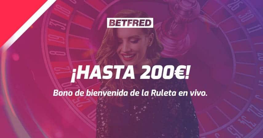 bono Betfred casino online
