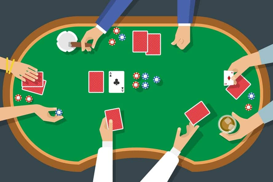 dealer en blackjack y poker