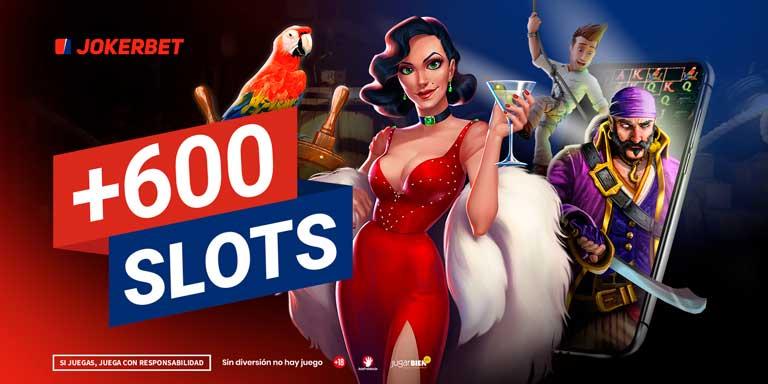 jokerbet slots más de 600 tragaperras online