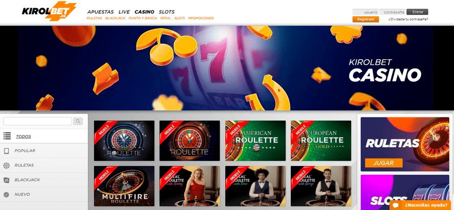 portal casino kirolbet