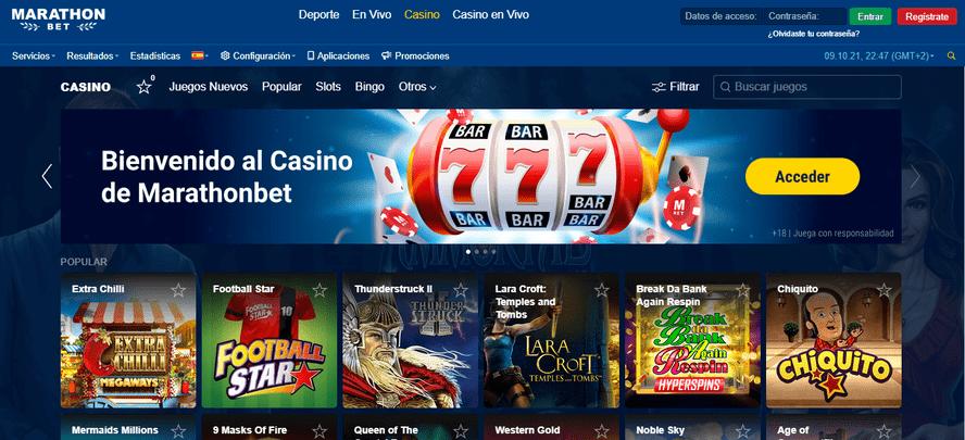 portal casino marathonbet