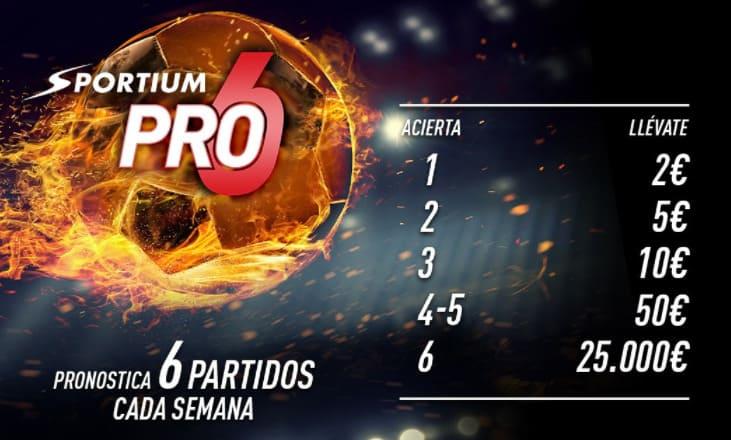 premios pro6 sportium