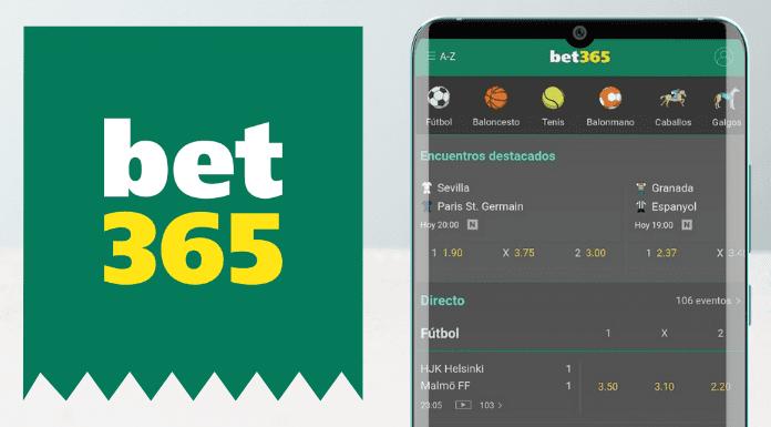 App de Bet365 apuestas deportivas