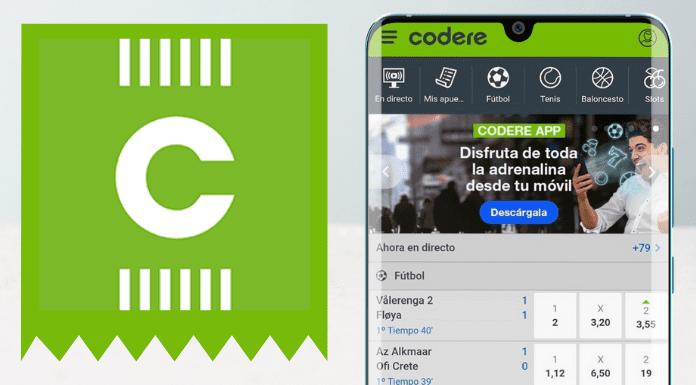 App de Codere apuestas deportivas