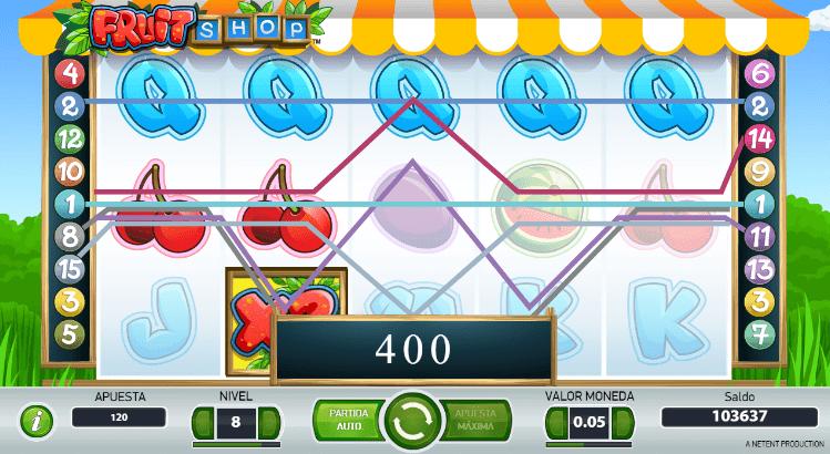 lineas de pago fruit shop