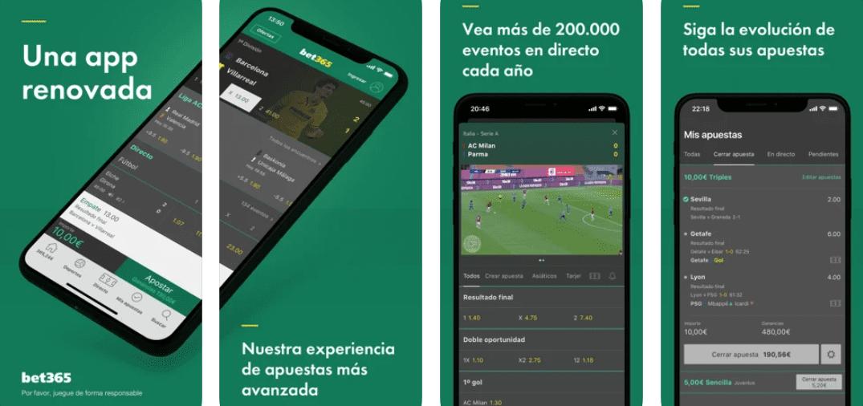 ventajas de bet365 app apuestas deportivas