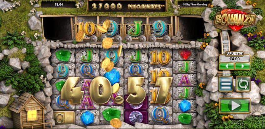 bonanza slot - la primera slots desarrollada con Megaways por Big Time Gaming