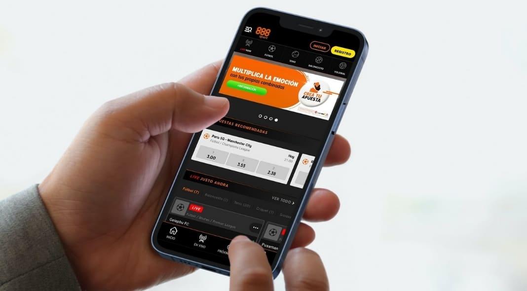 Aplicación 888sport app apuestas