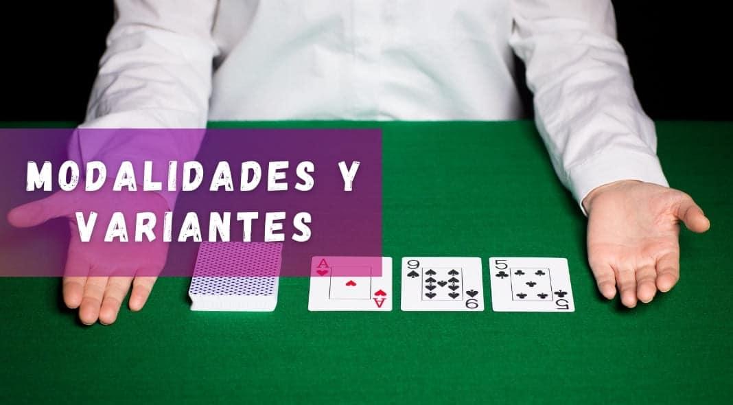 Modalidades y variantes del poker