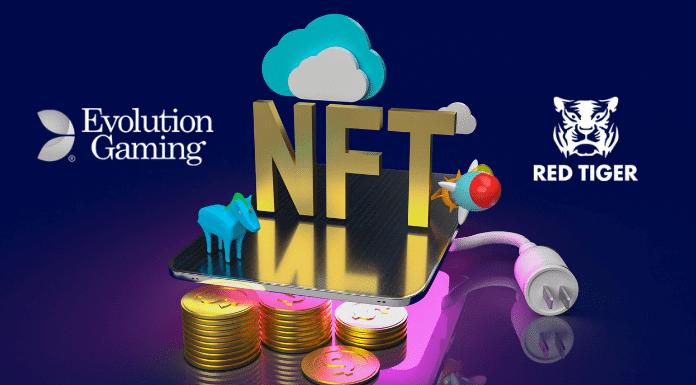NFT Megaways la primera tragaperras con criptoarte obra de Evolution Gaming